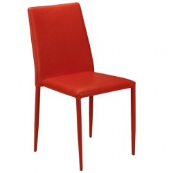 Table empilable Jazz coloris Rouge