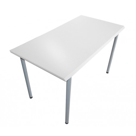 Table fixe blanc 1300x678 mm