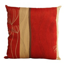 Coussin Roseau rouge