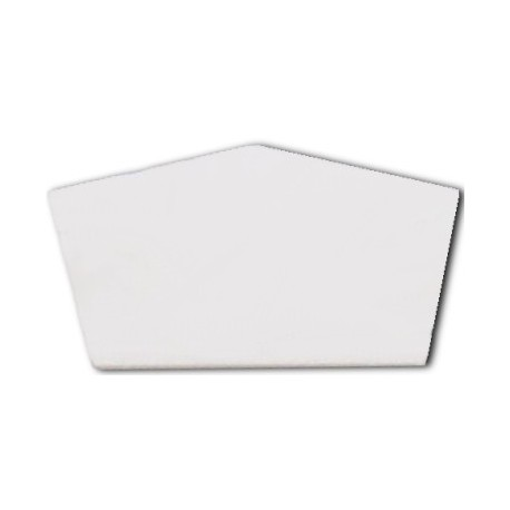 EMBOUT FAITIERE BLANC RAL 9010 PLAN 102808